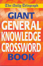Daily Telegraph Giant General Knowledge Crossword: Bk.