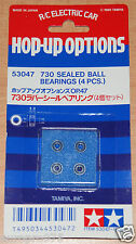 Tamiya 53047 730 Sealed Ball Bearings (4 Pcs.) (Astute/Super Astute/TGX/TA03)