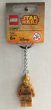 New Lego Star Wars C-3PO Keychain NEW 853471 Droid Key Chain