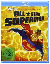 ALL STAR SUPERMAN (DC Animated Movie) -  Blu Ray - Sealed Region B