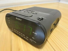 Sony ICF-C218 Dream Machine FM/AM Clock Radio with Alarm and Automatic Time Set