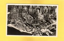 RPPC  Aerial View of Lower New York City,NY purchased atop Empire State Building