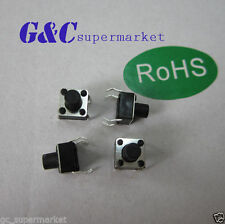 100pcs Micro switch  push button 6 * 6 * 7 mm  new good quality