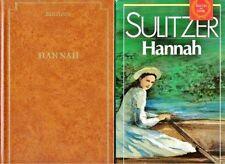 HANNAH // Succès du Livre // Paul Loup SULITZER // Aventures palpitantes