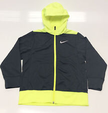 Nike Boys'  Water Repellent Training Hoodie, Dark Gray, Size S