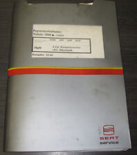 Werkstatthandbuch Seat Toledo Leon 4 Zylinder Einspritz Motor Mechanik 4Ventiler