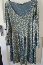 ADINI JERSEY TUNIC SMOCK TOP LAGENLOOK LAYERING SIZE L2 18 20