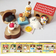Bandai Hit point capsule toy Neko Atsume Cat collection Game characters Full set