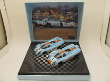 NSR SET 06 GULF Porsche 917K 24h Daytona 1971 Limited Ed. 2 Slot Car Set 1:32