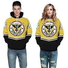 Men Women 3D Graphic Print Hoodie Sweater Sweatshirt Jacket Coat Pullover Tops
