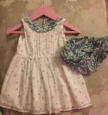 Next Girls Dress Aged 0-3 Months