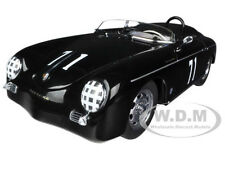 PORSCHE SPEEDSTER 356A #71 STEVE MCQUEEN VERSION BLACK 1/18 BY AUTOART 77866