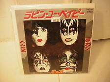 KISS 45 JAPAN PICTURE SLEEVE &45 I WAS MADE FOR LOVING  YOU /HARD TIMES