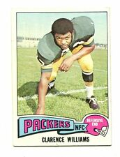 1975 Topps #479 Clarence Williams Green Bay Packers