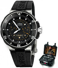 76176827134RS+MB | ORIS PRO DIVER POINTER MOON | BRAND NEW MENS WATCH