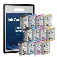 12 Ink Cartridge for HP 88XL L7700 L7780 K5300 K5400N K5400TN K5456 K5456DN C