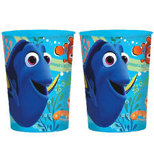 FINDING DORY REUSABLE KEEPSAKE CUPS (2) ~ Birthday Party Supplies Favors Plastic