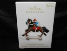 "Hallmark Keepsake ""A Pony For Christmas"" 2010 Ornament NEW 13th in Series"