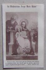 feuillet prière LOUANGES A MARIE ENFANT