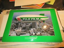 "Fuji Photo ,164 ft ""Air Ship"" Fuji , 20"" X 14 1/2"" , Poster / Desk Top Cover"