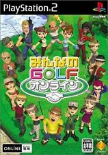Used PS2 Minna no Golf Online Japan Import (Free Shipping)
