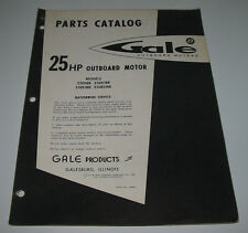 Parts Catalog Gale 25 HP Outboard Motor 25D18B 25DE18B 25DL18B 25DEL18B Katalog!