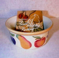 LONGABERGER POTTERY FRUIT MEDLEY RAMEKIN-NEW IN BOX-SHOP STORESALE