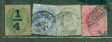India King Edwd (4 SMALL)USED--STAMP PACKET