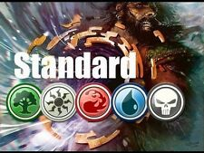 200 Standard Magic the Gathering Cards 10 Rares 20 Unc 2 Foil MTG Lot Collection