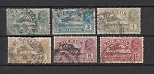 British India 1929 King George V Air Mail Set of 6 Stamps Used