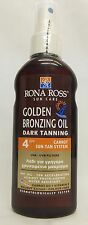 Rona Ross Golden Bronzing Oil Dark Tanning SPF 4 (160ml)  EXPRESS P&P