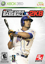 Major League Baseball 2K8 2008 08 8 GAME (Xbox 360) **FREE SHIPPING!!