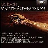 J.S. BACH: MATTHAUS PASSION NEW & SEALED
