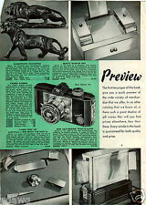 1939 PAPER AD Toast O Later Self Feeding Electric Toaster 2 Slice