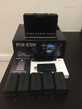 "Video Devices PIX-E5H 5"" 4K Recording Video Monitor w/ Extras + 1 TB SpeedDrive"