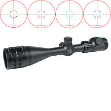 Woltis 4-16x50mm BDC & Mil-Dot Red/ Green/ Blue Illumination Reticle Rifle Scope