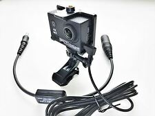 CRAZEDpilot HELICOPTER CAMERA 4K HD with EXTERNAL audio port to RECORD ATC