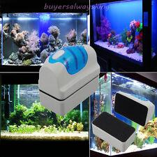 Best Magnetic Clean Brush Aquarium Fish Glass Tank Algae Cleaner Scrubber Float
