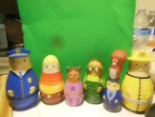 HIGGLYTOWN HEROES SET OF 6 FIGURES CAKE TOPPERS