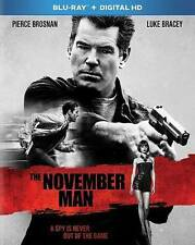 NEW The November Man (Blu-ray Disc, 2014 Pierce Brosnan Luke Bracey) SHIPS FREE