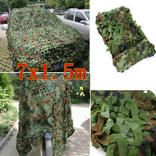 23x5FT Woodland Camouflage Net Shooting Hide Army Hunting Camo Netting Hide US