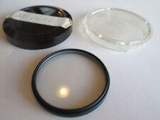 Vintage Hoya Star Filter Lens 52mm cs cross screen with holder