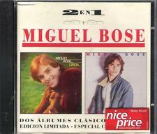 "MIGUEL BOSE' - RARO CD 2 IN 1 SPAGNA "" LINDACHICAS! "" ED.LIMITATA"