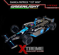 GREENLIGHT 10874 1:18 DANICA PATRICK 1ST WIN JAPAN 300 TWIN RING MOTEGI INDY CAR