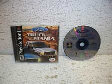 Ford Truck Mania PS1 Sony PlayStation 1 Video Game Out of Print
