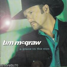 TIM McGRAW A Place In The Sun CD