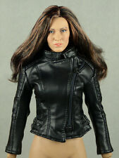 1/6 Phicen, Hot Toys, Kumik, Play Toy, Magic Cube - Female Black Leather Jacket