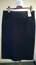 "NEW Marks & Spencer Limited Collection black f/lined skirt UK 16 27"" L 34"" W £35"