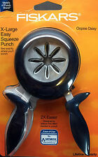 Fiskars OOPSIE DAISY Flower Extra-Large XL Squeeze Punch Paper Scrapbooking NIP