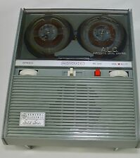 Vintage GE General Electric Portable Reel To Reel Recorder for parts